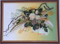 Бизнес идеи для женщин композиции и картины из искусственных цветов