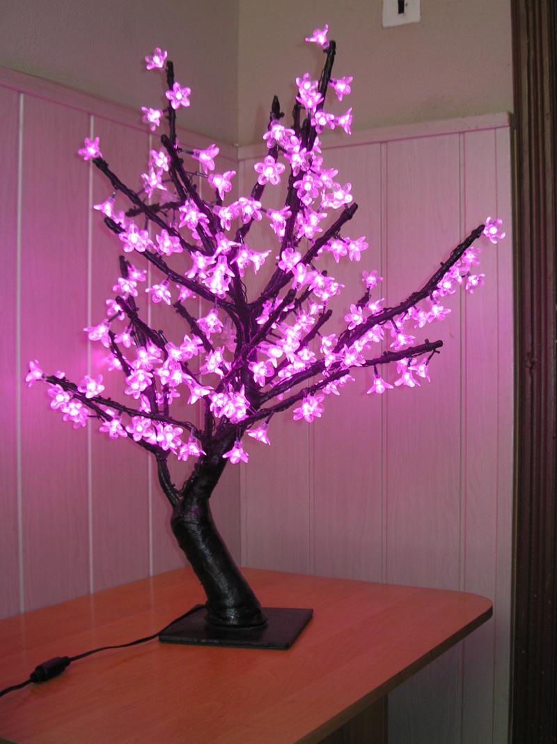Светильник с деревом своими руками фото