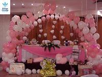 Бизнес идеи для женщин: оформление воздушными шарами праздников и свадеб.