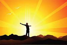 Энергия успеха при осуществлении мечты.