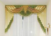 Бизнес идеи для женщин: пошив штор и ламбрекенов на дому.